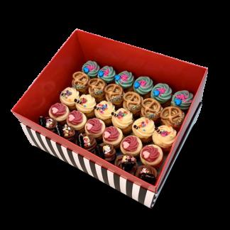 קופסת מתנה 30 קאפקייקס מיני