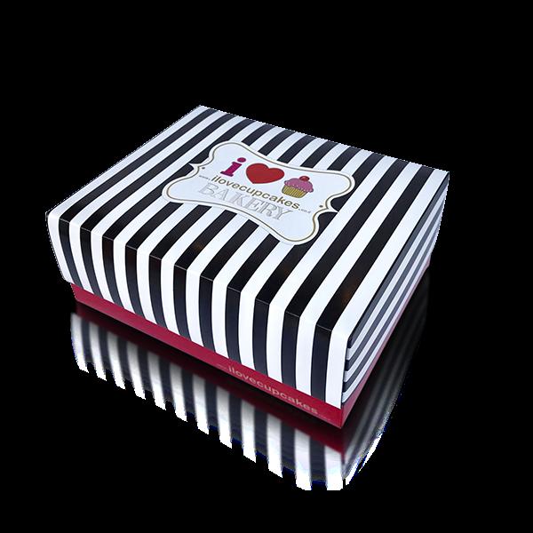 gift box cupcakes