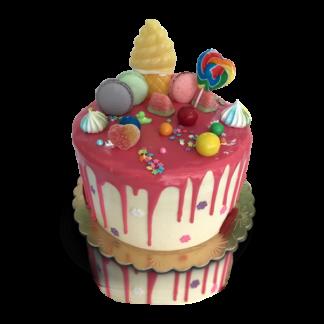 large candy cake
