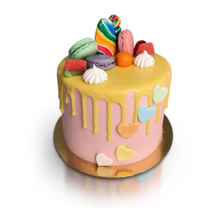 candy cake small