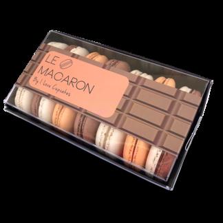 מקרונים שוקולדים קטן